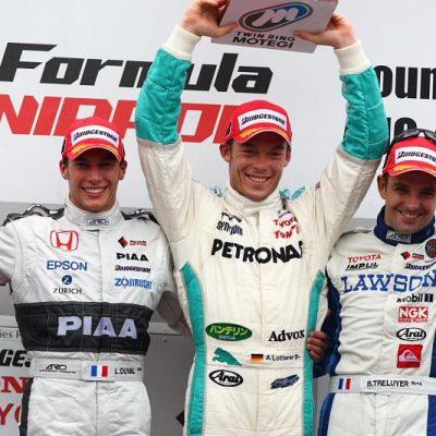 優勝アンドレ・ロッテラー 2位ロイック・デュバル 3位ブノワ・トレルイエ