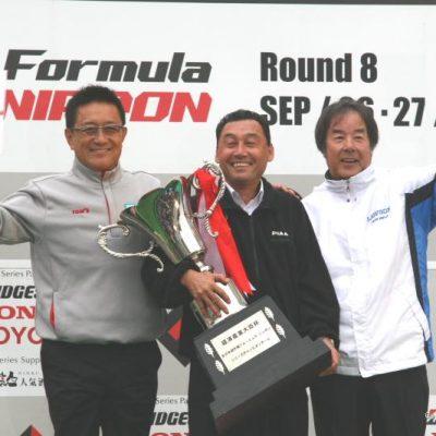 シリーズ チャンピオンTEAM nakajima racing=中嶋監督